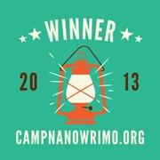 Winner Camp NaNoWriMo April
