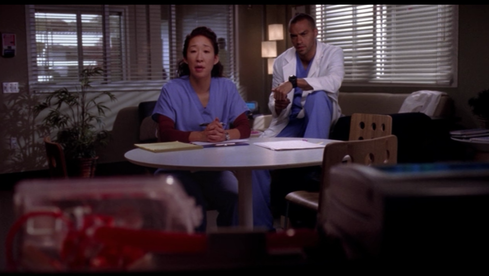 Cristina Yang and Jackson Avery (Grey's Anatomy, ABC)