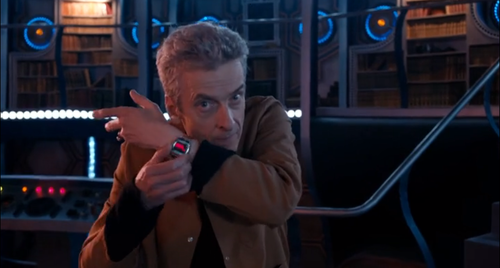 Set the time, Doctor. (BBC Doctor Who, The Caretaker)