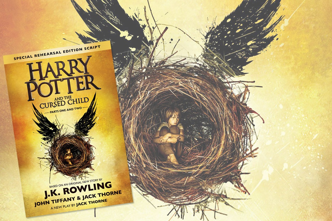 Book Cover Cursed Child : In defense of the harry potter and cursed child script